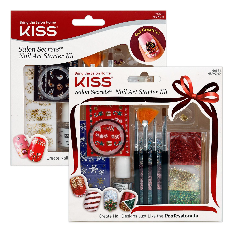 Kiss Salon Secrets Nail Art Starter Kit Ikatehouse